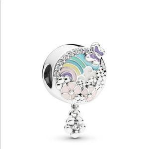 Pandora Flower Color Story Charm 🌈